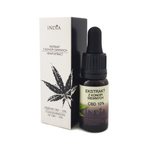 Olejek konopny India 10% CBD, 10ml